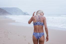 """Blue Leo"" - Bikini Hose zum Wenden"