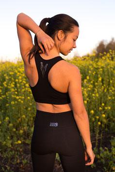 Sport Bra - Naomi Black