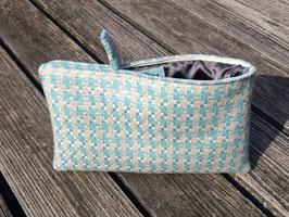 Bag in Bag - Pied de poule aqua-perlmutt