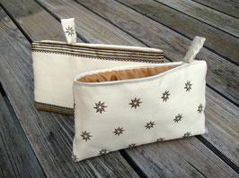 Bag in Bag - les étoiles -ecru
