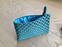 Bag in Bag - Gittermuster - türkis