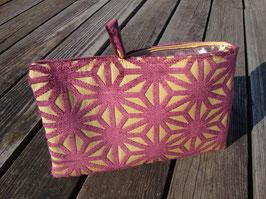 Bag in Bag - Samet Sterne Violet auf Gelb
