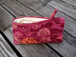 Bag in Bag - Blumen Jacquard Rosa