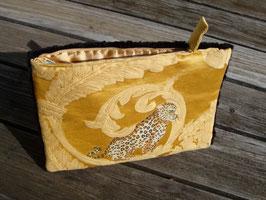 Tablet Bag für iPad Mini – Wildkatze auf Sonnengelb
