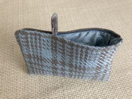 Bag in Bag - Pied de poule hellblau-grau