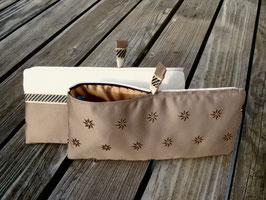Bag in Bag - les étoiles - taupe