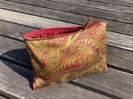 Tablet Bag für iPad Mini -Indisches Muster grün-rot