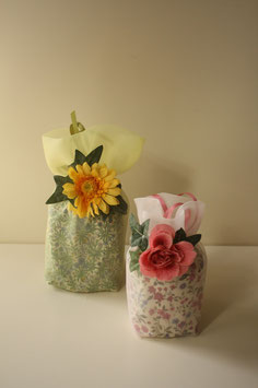 天使の花壺