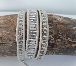 Wickelarmband 3-fach