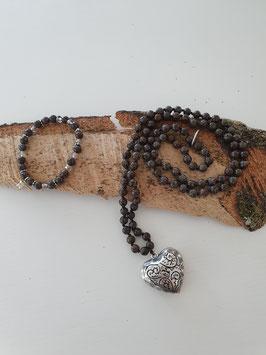 Perlenhalskette / Armkette