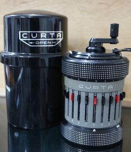 Curta II Komplettset mit 2 Original Bedienungsanleitungen sowie Original Verpackung, Nr. 559857, Jahrgang 1970 - 1 Jahr Garantie