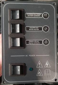 DISJONCTEURS TABLEAU ELECTRIQUE VOILIER BATEAU