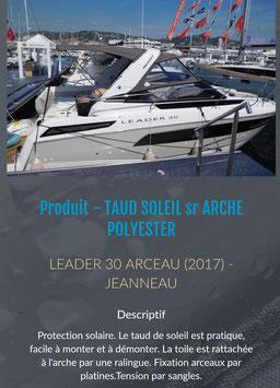 TOILE DE CASQUETTE LEADER 30 ARCHE POLYESTER
