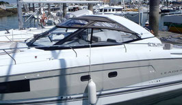 LEADER 36 OPEN 2015 TOILE CABRIOLET CROISIERE
