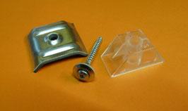 Kalotten Trapez incl. Abstandhalter + Schrauben