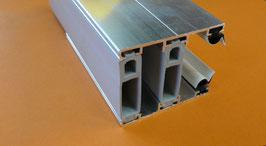 Alu - Thermo - Verlegeprofil für 32mm incl. Dichtung Weiß