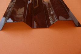 """PC Profilplatte Trapez 76/18 """"Bronce"""" 0,8mm"""
