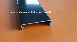 Alu - Klemmdeckel - Anthrazit - RAL - 7016