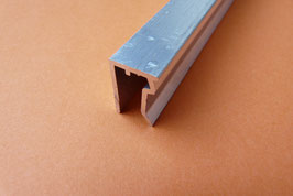 Plattenabschlußprofil für 6mm Platten