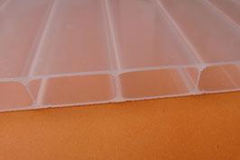 Stegplatten 16mm -Kammerbreite 32mm - Opal - Weiß - 980 + 1200mm