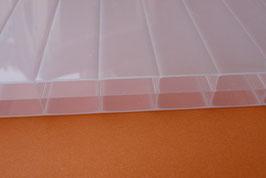 Polyclear  Stegdreifachplatte  16mm Opal-Weiss 3- Steg - 980 + 1200mm