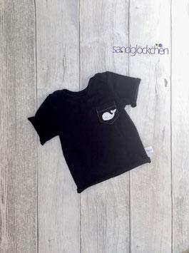 """""""Wal"""" T-Shirt navy blau - Gr. 56/62"""