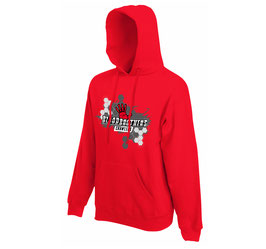 Bloodbrothers Crawlers hooded sweater Red