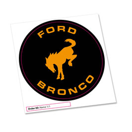 Trx-4 Spare Tire cover decal