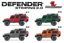 Defender Striping 2.0