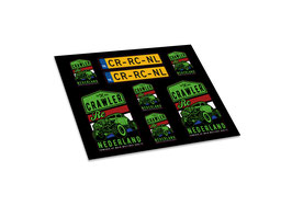 Custom Crawler Rc Nederland stickerset