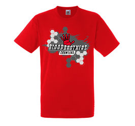 Bloodbrothers Crawlers T-shirt Red
