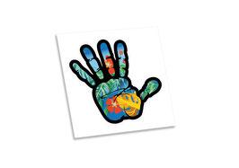 Bloodbrothers Hand Bumper sticker - Aloha