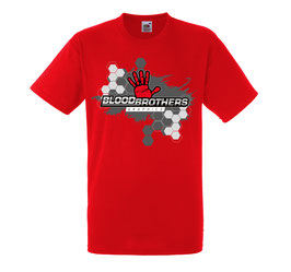 Bloodbrothers Graphics T-shirt Red