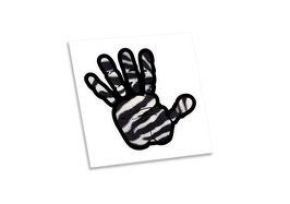 Bloodbrothers Bumper sticker - Zebra