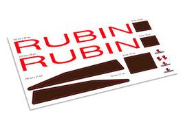 Graupner 2190 WP RUBIN decalset