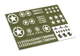 Cross Rc HC6 US ARMY Decalset