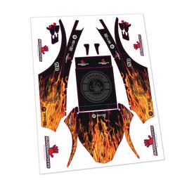 Kraken SX5 Fire decalset