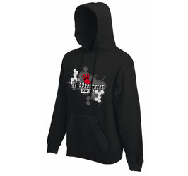 Bloodbrothers Crawlers hooded sweater Black