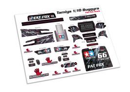 Tamiya TT-01E Buggyra Racing Truck Decalset