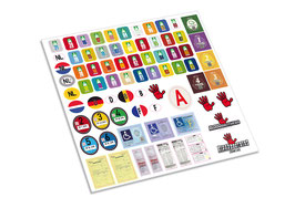 EU Scale decals Assorti set