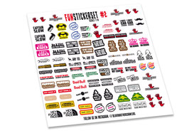 Funstickerset #2 Bloodbrothers Crawlers