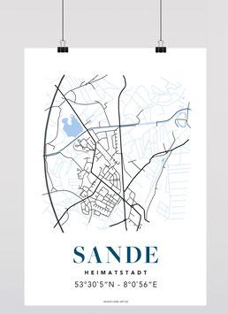 MAP SANDE