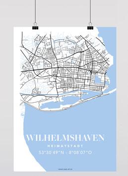MAP WILHELMSHAVEN