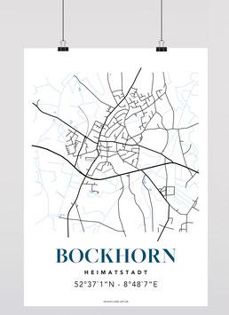 MAP BOCKHORN