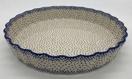 Quichevorm fijne stip blauw