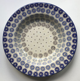 Soepbord blauwe sterbloem