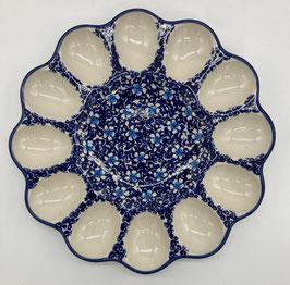 Eierserveerschaal blauw