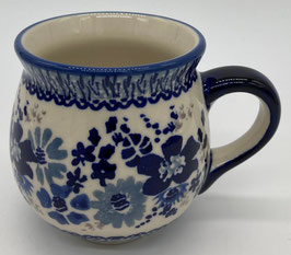 Boerenbeker blauwe bloemen