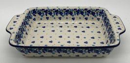 Rechthoekige ovenschaal blauwe bes