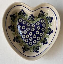 Schaal in hartvorm haas